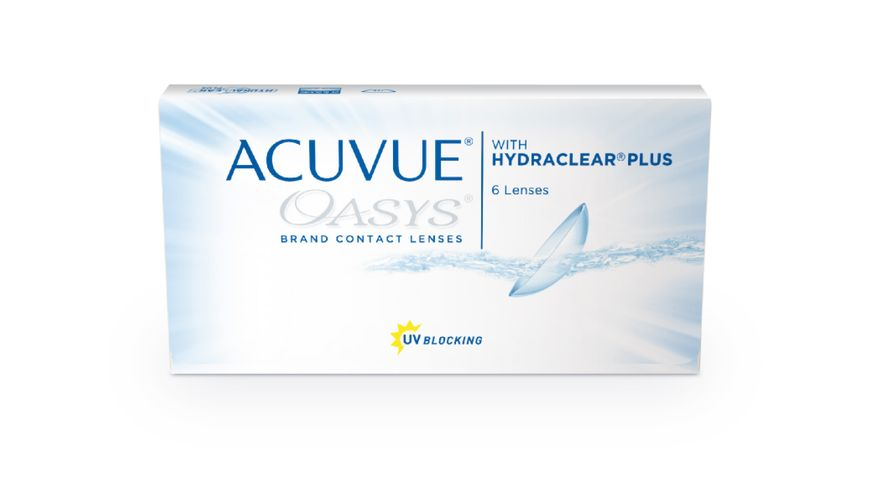 Lente de Contato Acuvue Oasys com Hydraclear Plus