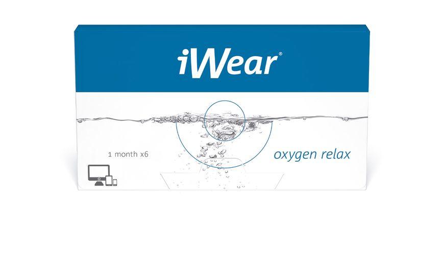 Lente de Contato iWear Oxygen Relax
