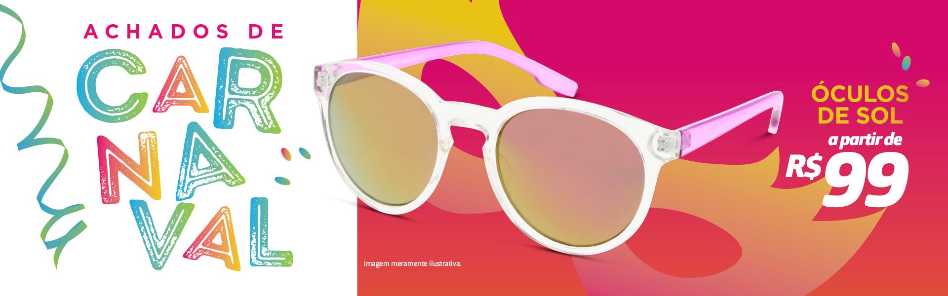 Banner - Carnaval Achados de Oculos