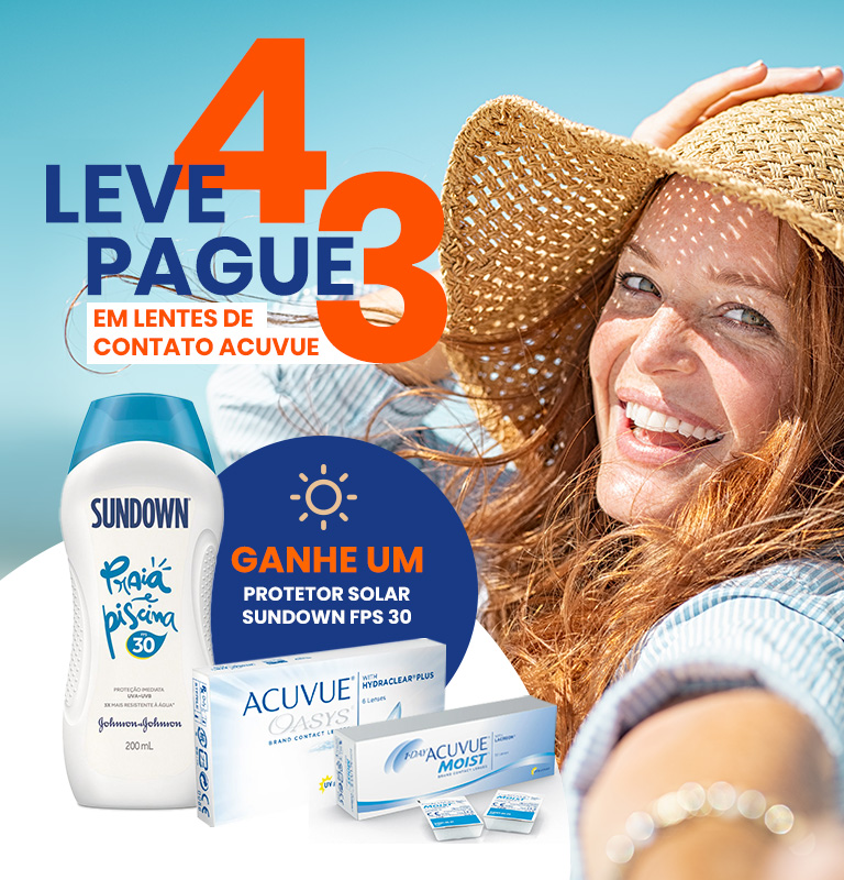 Banner - Leve 4 e Pague 3 - Acuvue