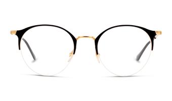 8053672785036-front-01-ray-ban-0rx3578v-eyewear-gold-top-shiny-black