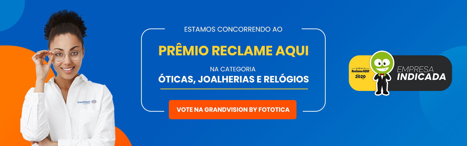 Banner - Premio Reclame Aqui