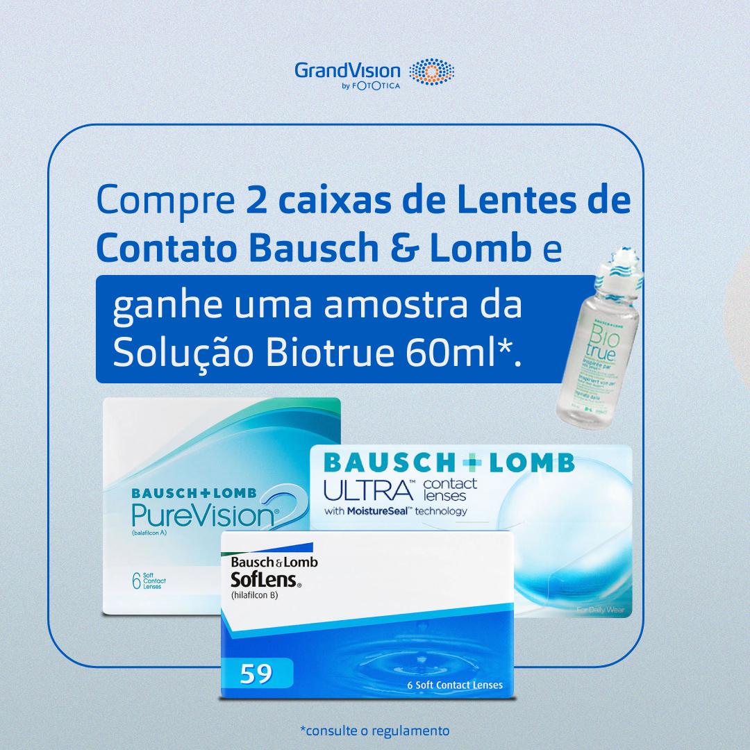Bausch & Lomb + Biotrue
