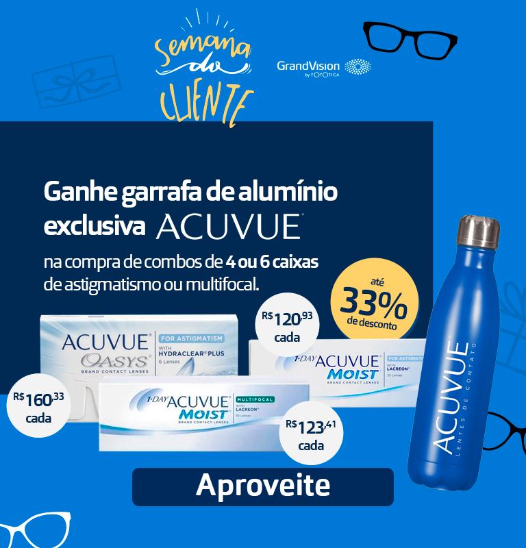 Acuvue + Garrafa